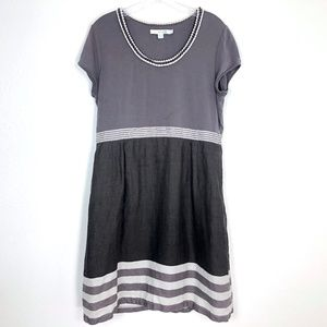 Boden Stripy Hem Dress 10P